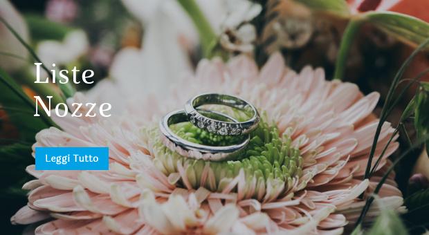 Liste nozze I